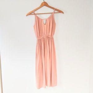 Volcom pink/blush dress EUC size XS